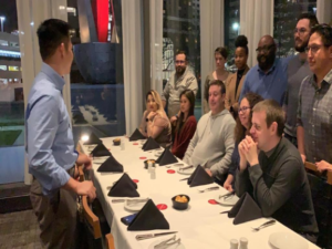 Critical Solutions Team Dinner